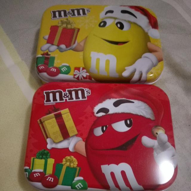 M&M's 收納鐵盒