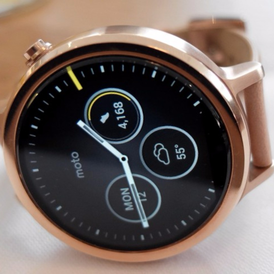 Moto 360 Gen 2 Smartwatch (Preloved: Women's)