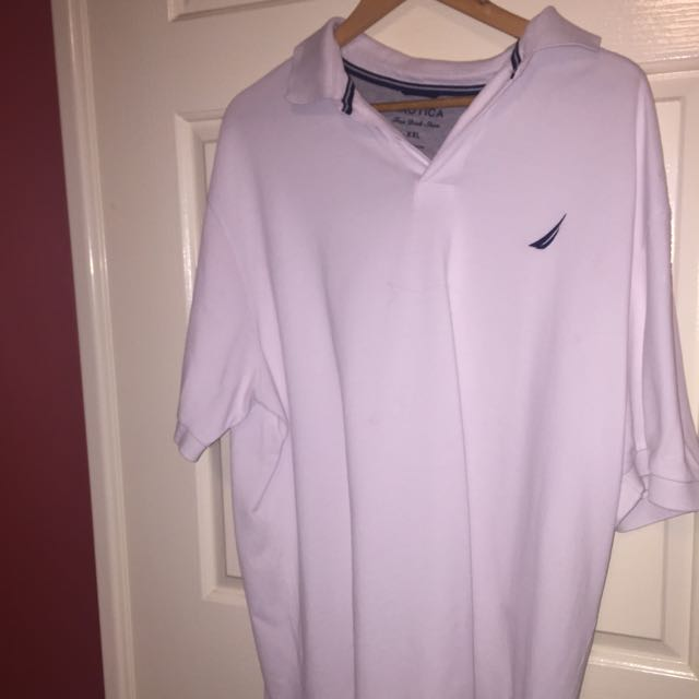 Nautica Polo (White) XXL