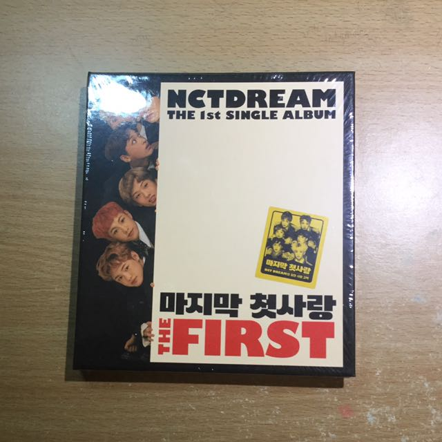 NCT Dream First Single Album