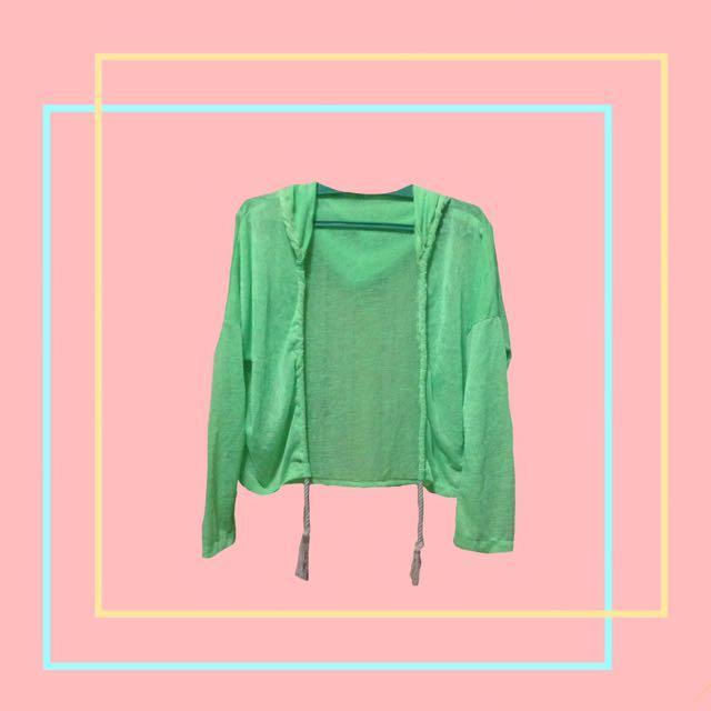 Neon Green Jacket