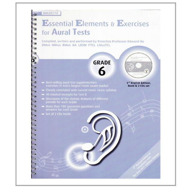 NEW Music Essential Elements And Exercises For Aural Tests Grade 6