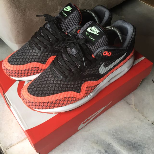 Nike Air Max Lunar 1 Breeze Hot Lava | Sneakers nike, Nike