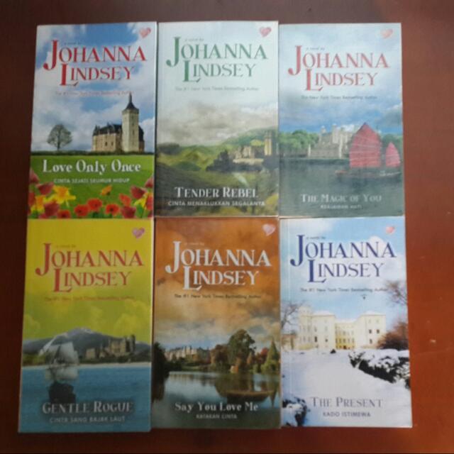 Novel Kolpri Johanna Lindsey - Mallory Series