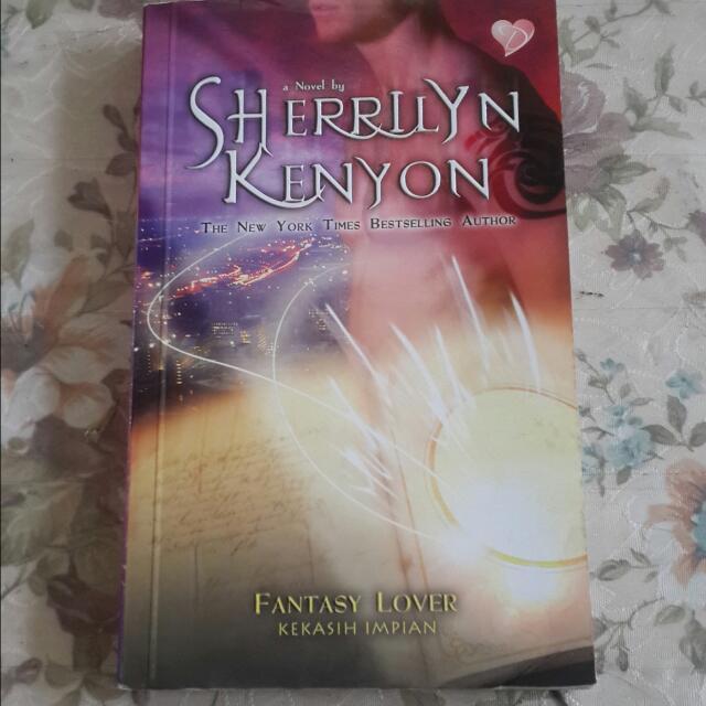 Novel Kolpri Sherrilyn Kenyon - Fantasy Lover