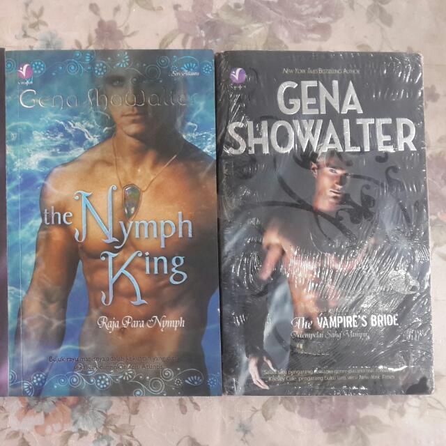Novel Kolrpi Gena Showalter II 4buku