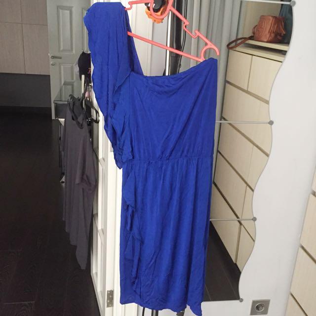 Oasis One Shoulder Dress