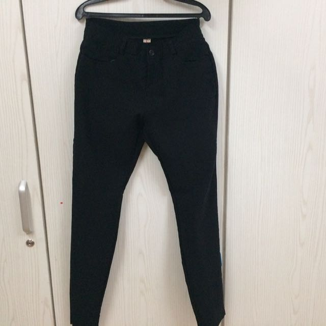(2)pcs Office Black Pants