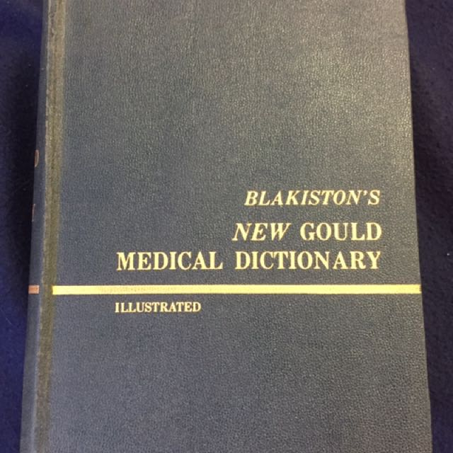 Old Medical Dictionary