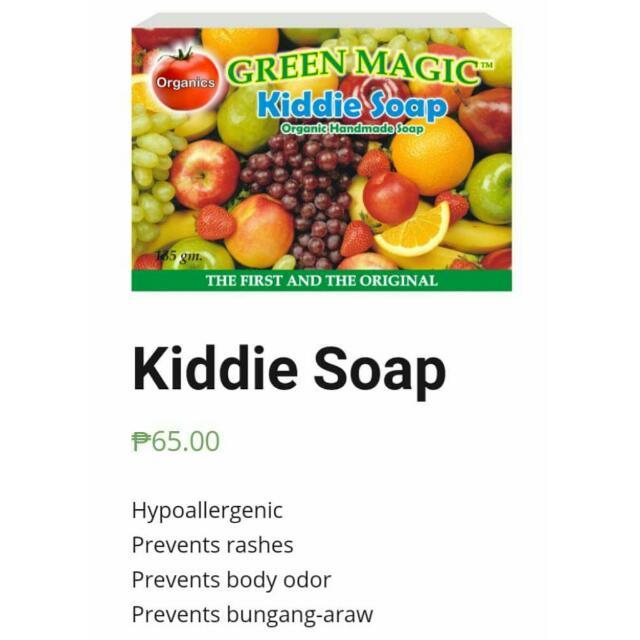 Organic Kiddie Soap