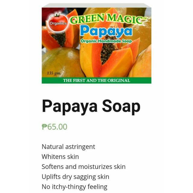 Organic Papaya Soap
