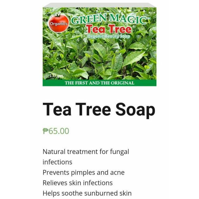 Organic Tea Tree Soap