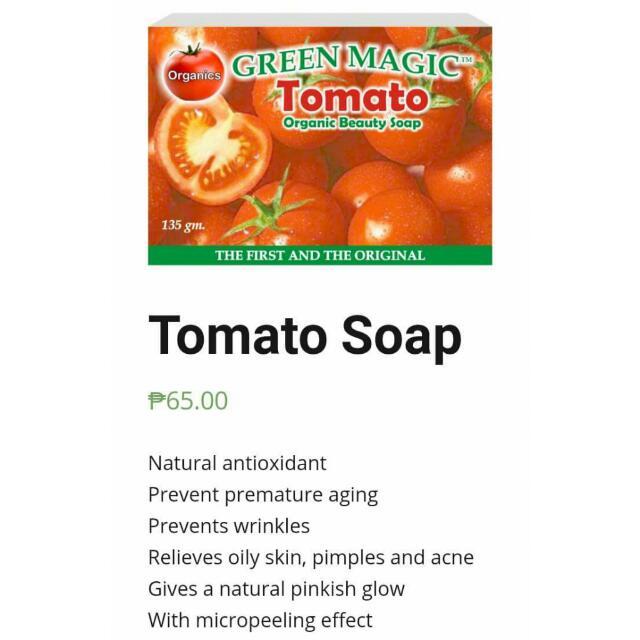 Organic Tomato Soap
