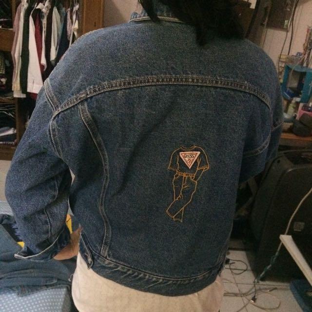 ORIGINAL GUESS Jacket Jeans