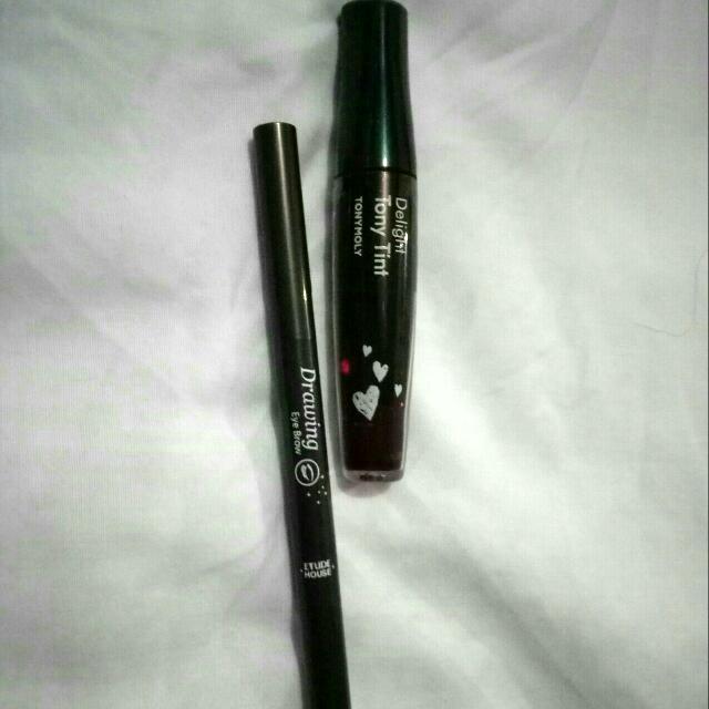 Paket Tonymoly Tint&Etude Eyebrow