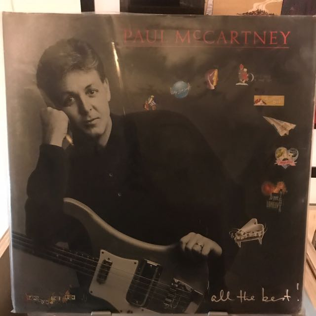 Audiophile Paul McCartney All The Best Vinyl LP Record UK Pressing Music Media CDs DVDs Other On Carousell