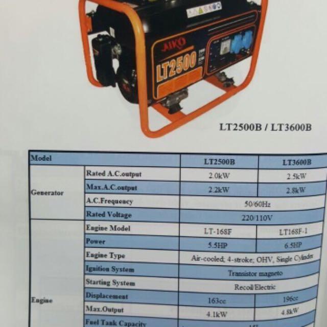 Petrol And diesel Engine Generators