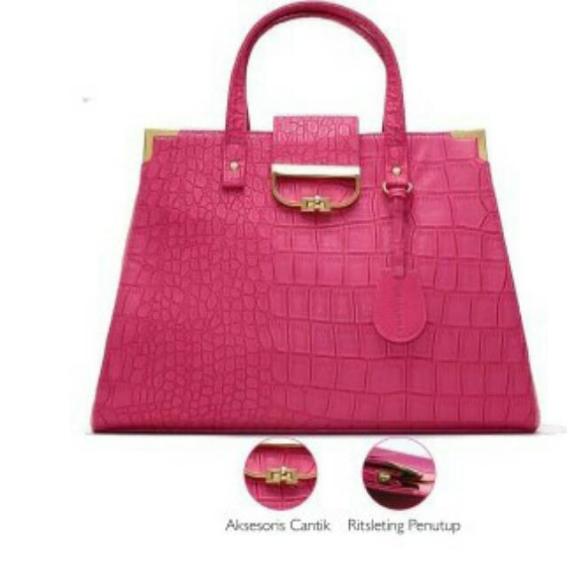 Pink Glamour Fashion Bag