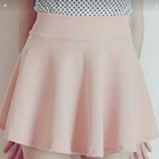 Pink Skirt S