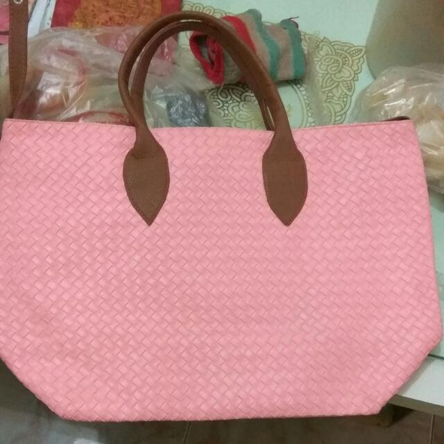 Pink Totebag Bebe
