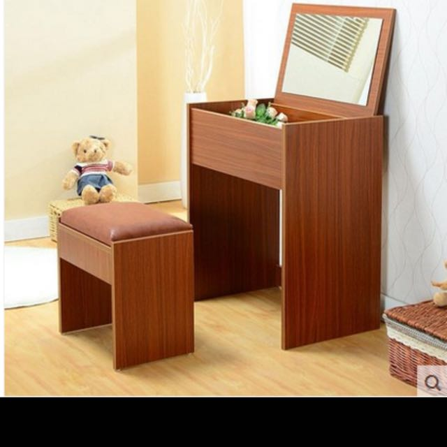 ... Preorder 2 In 1 Dressing Table , Flip Up Drawer , Makeup Table , Mirror  Table ...