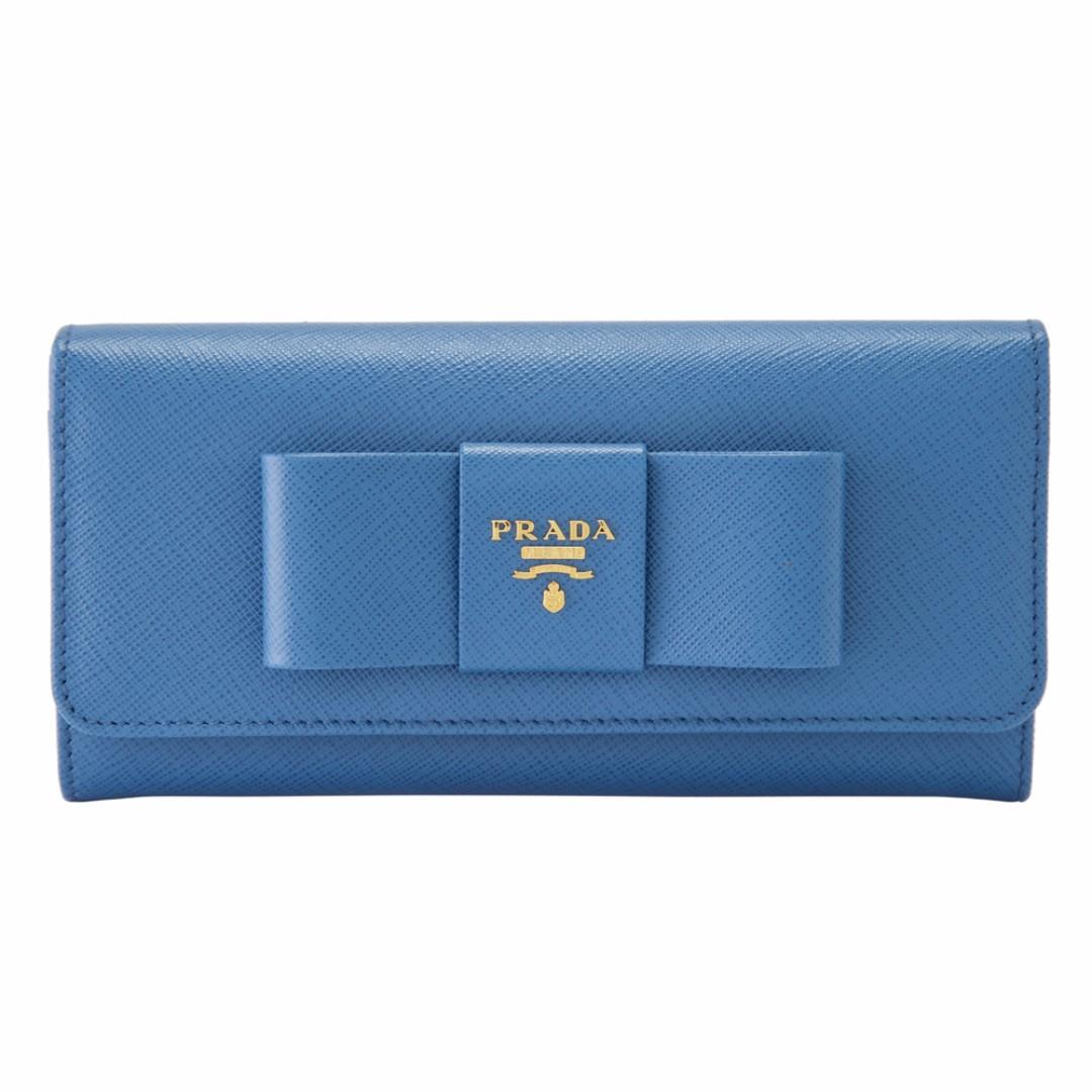 c2a6b3d16da991 Brand New Prada Saffiano Lux Bow Wallet - 1MH132 (POB0002245 ...