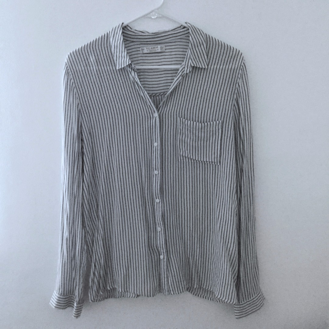 Pull & Bear Striped Polo