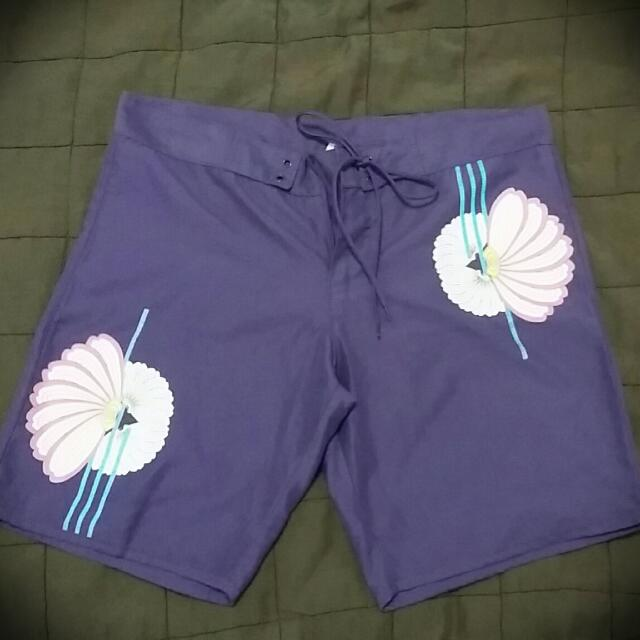 Purple Beach Shorts