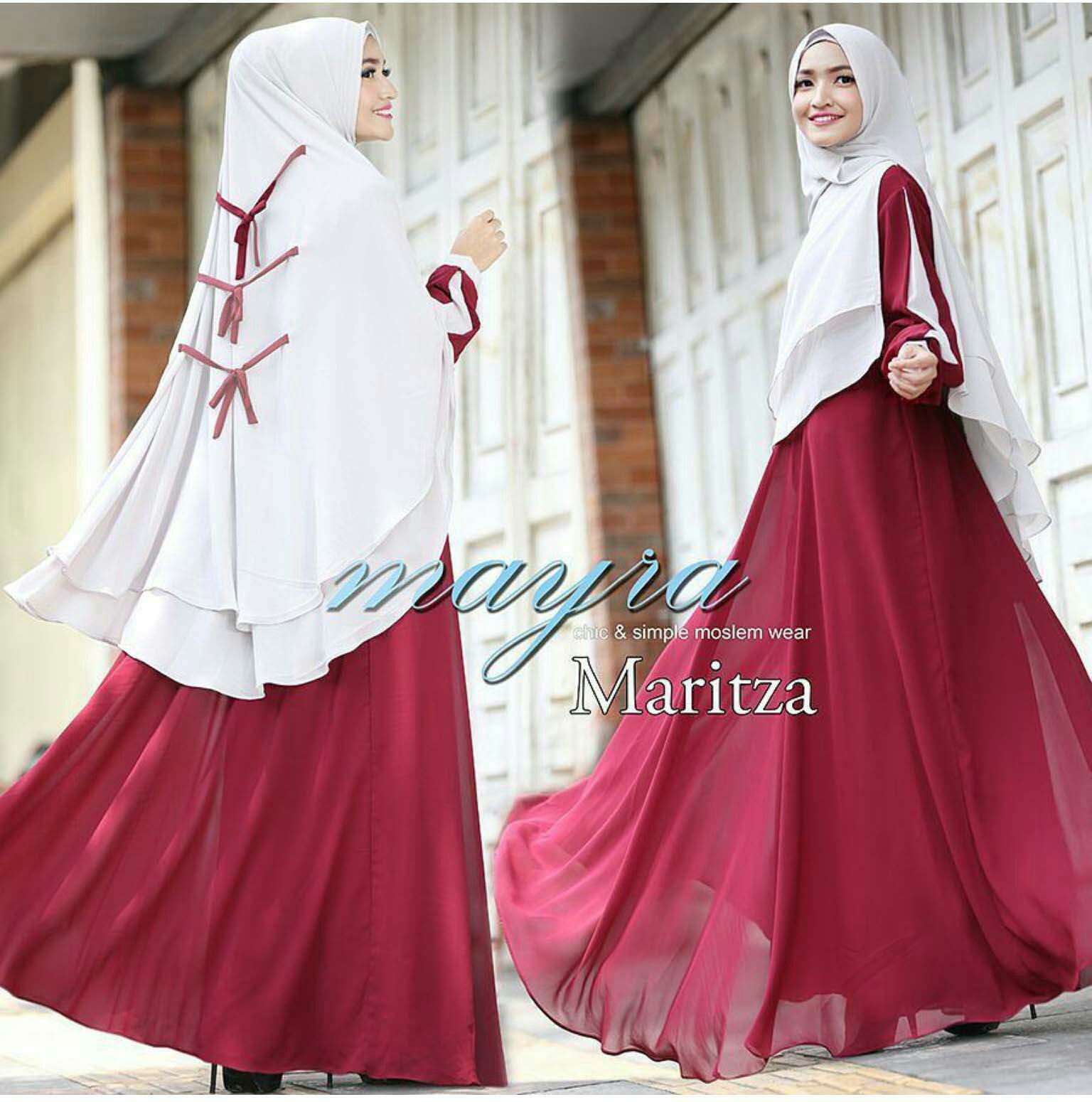 RG2204 Gamis Syari Terbaru 2017 Murah Wanita Baju Murah Hijab Baju Pesta Baju Lebaran Modis Maxi New Olshop Fashion Olshop Wanita di Carousell