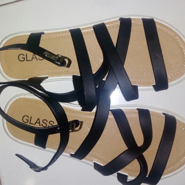 Sandal Tali Glass Jelly ..nyaman Di Pakai Barang Ringan Tdk Berat