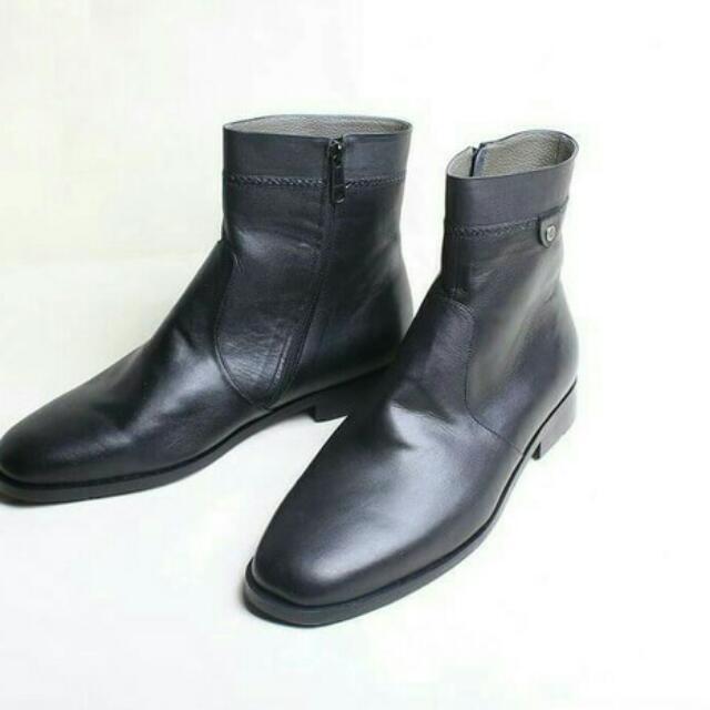 Sepatu Kulit Boots Flavio Torro