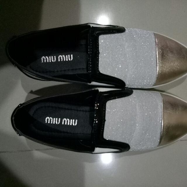 Sepatu miu Miu Size 38