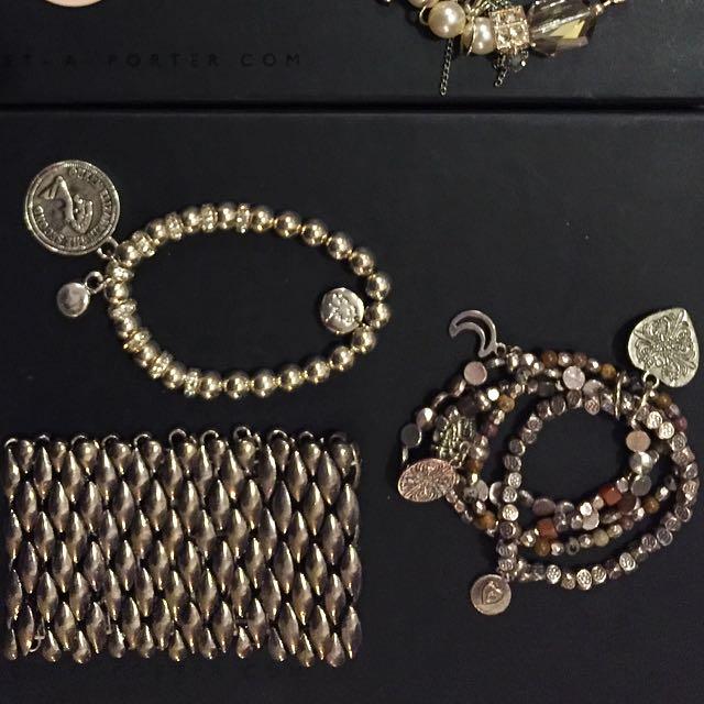 Silver Tilkah Bracelets