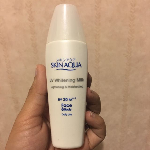 Skin Aqua Uv Whitening Makeup