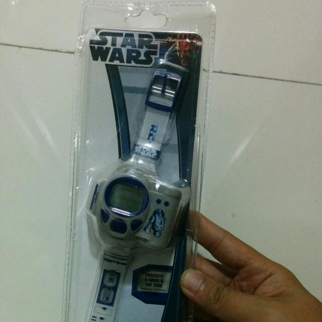 Star Wars R2-D2 Projection Watch