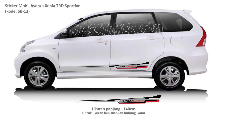 Sticker Mobil Avanza Xenia Trd Sportivo Auto Accessories On Carousell Kode 05