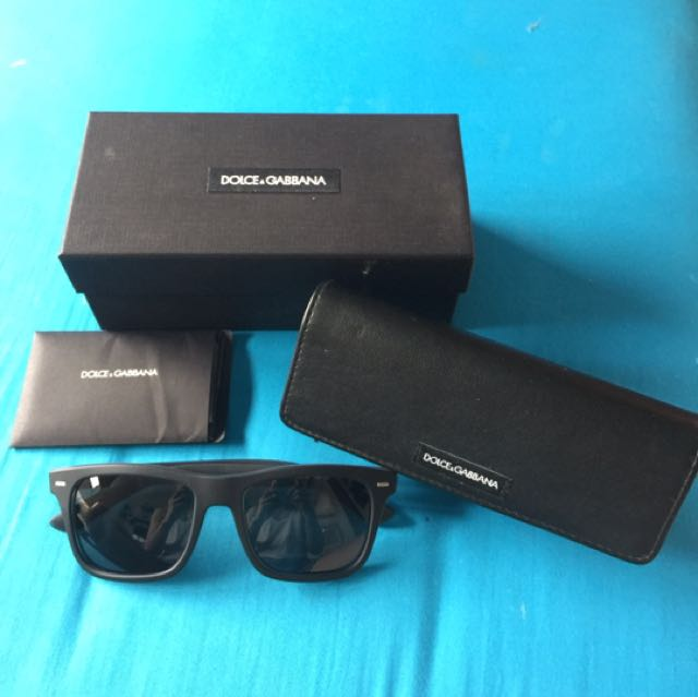 Dolce & Gabbana Sunglases Original Aithentic