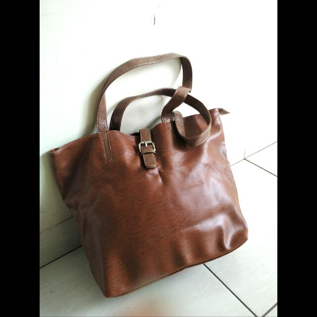 Tas Cokelat - Brown Bag