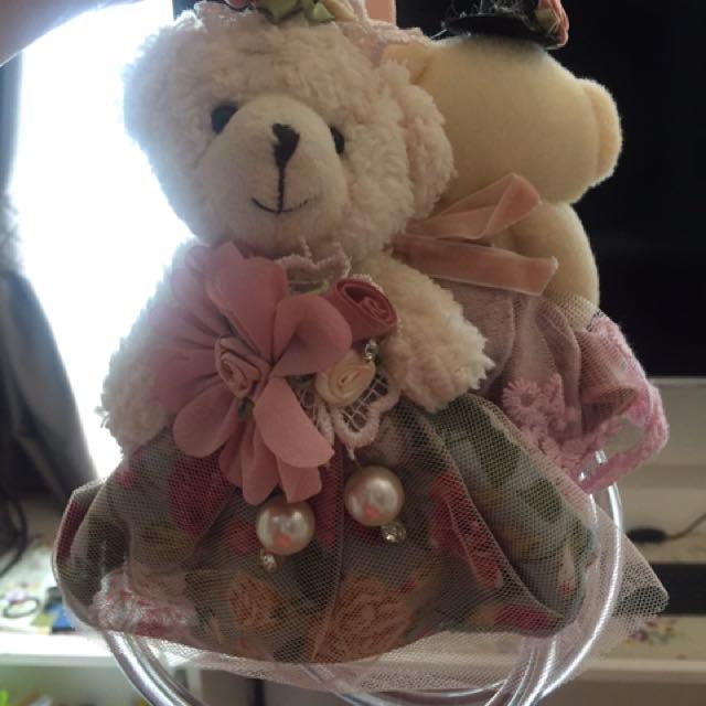 Teddy Bear Cling