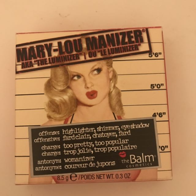 The Balm Mary Lou Maniser