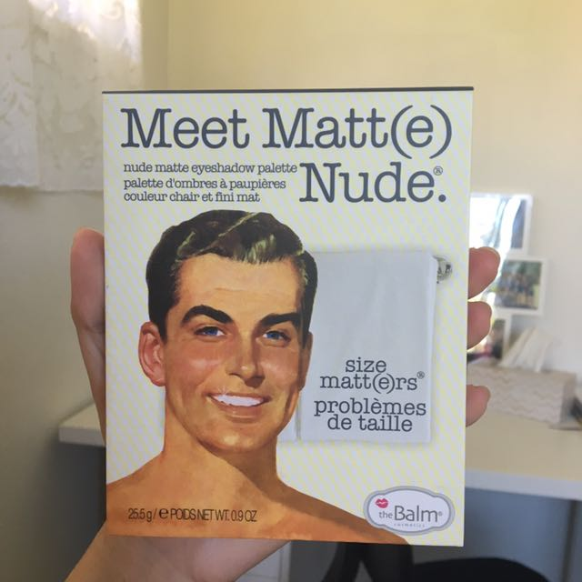 The Balm Meet Matte Nude Eyeshadow Palette