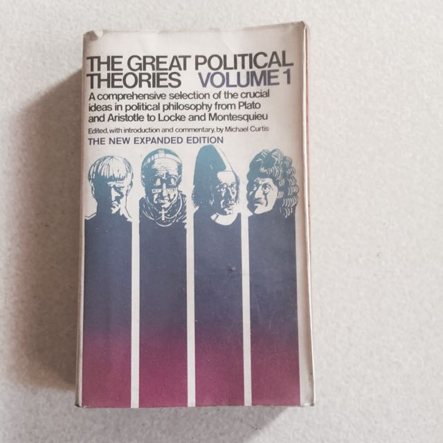 The Great Political Theories Vol. 1