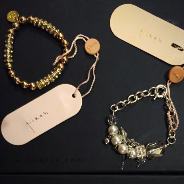 Tilka Bracelets New With Tags