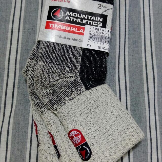 Timberland 休閒襪 兩件組