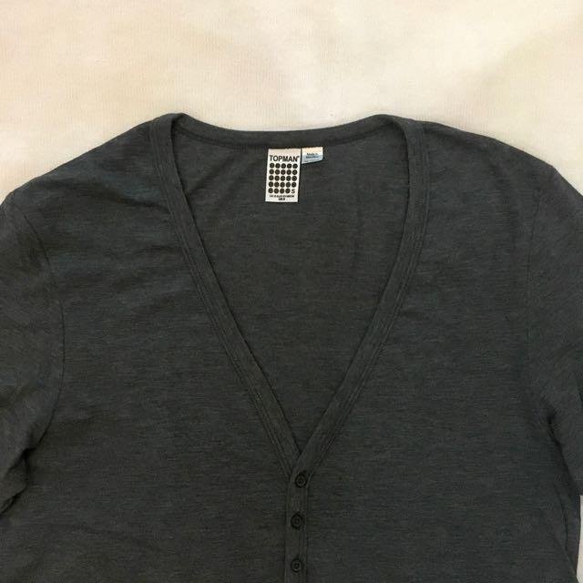 TOPMAN V-neck Shirt