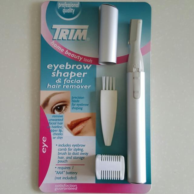 Trim Eyebrow Shaper Facial Hair Remover Health Beauty Face