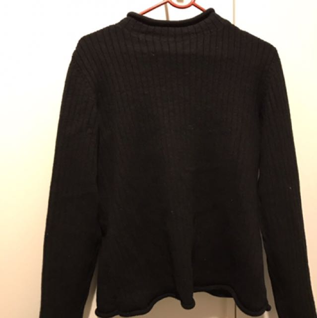 Turtle Neck Knit Long Sleeve