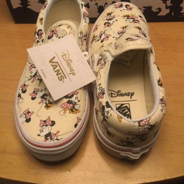Vans (Disney) Minnie mouse Classic Slip-on