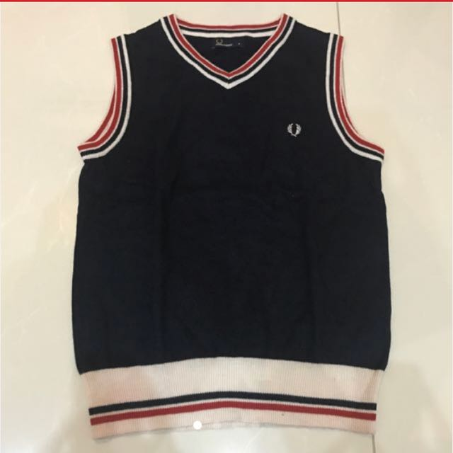 Vest Rompi Sweater Fred Perry