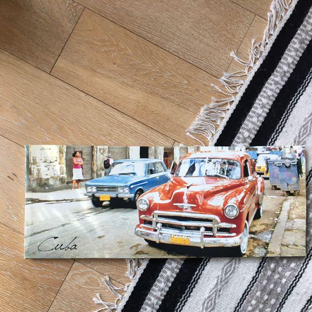 Vintage Cuban Cars Print
